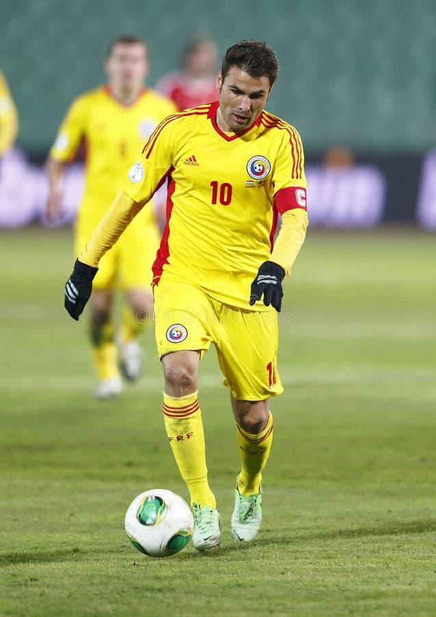 匈牙利对罗马尼亚橄榄球赛 库存图片