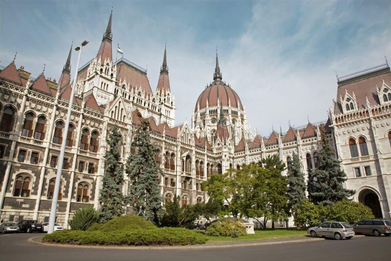 布达佩斯-议会 免版税库存图片