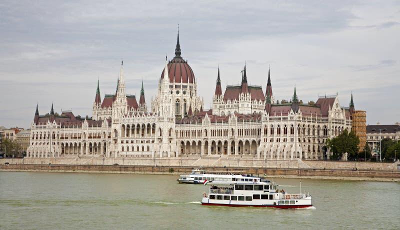 布达佩斯-议会 库存照片