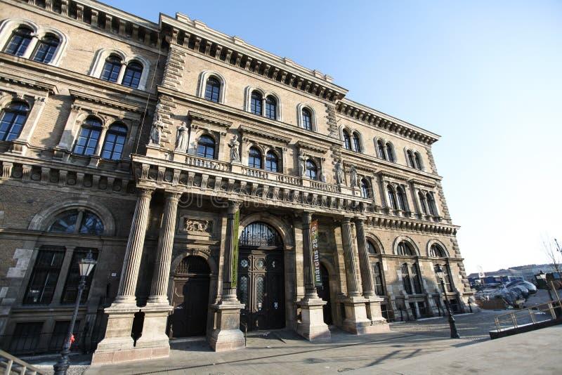 布达佩斯Corvinus大学 库存照片
