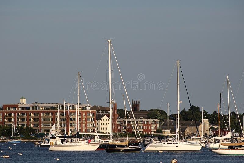 布里斯托尔港口小船 库存图片