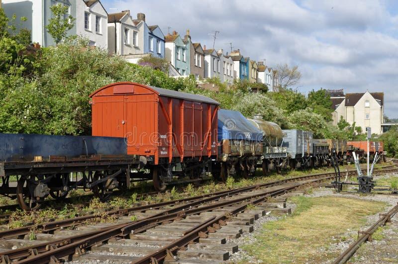 布里斯托尔港口铁路 库存照片