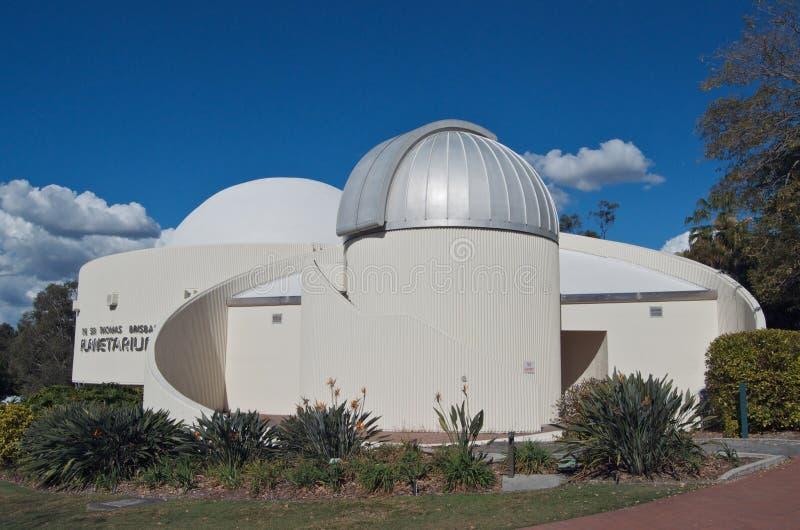 布里斯班天文馆 免版税库存照片