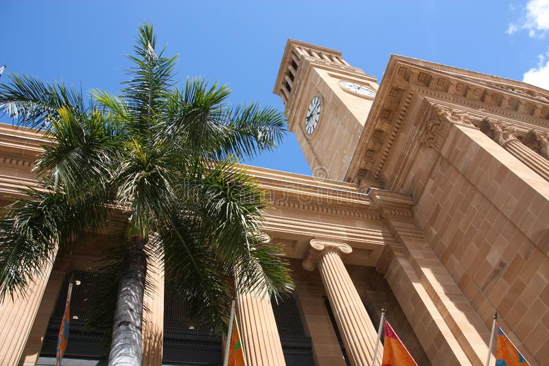 布里斯班政府大厦 库存图片