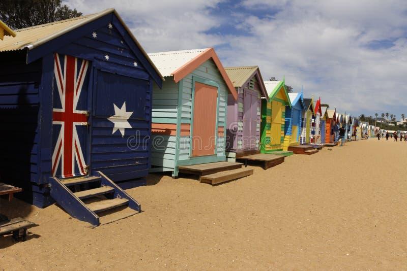 布里顿海滩 库存图片