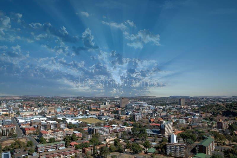 布隆方丹,自由州,南非 免版税库存图片