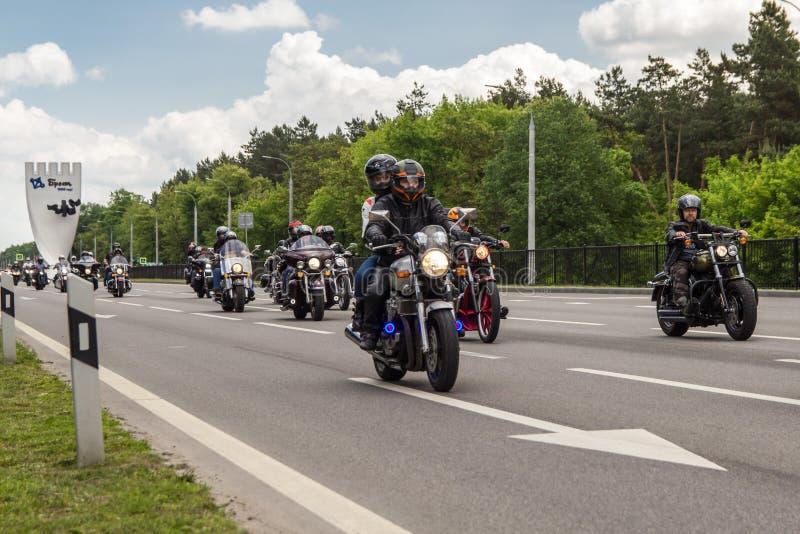 布雷斯特自行车节日国际性组织2019年 免版税库存照片
