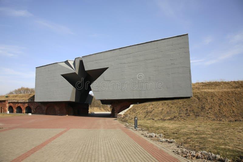 布雷斯特Litovsk fortres在布雷斯特布雷斯特 免版税图库摄影