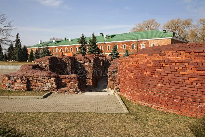 布雷斯特Litovsk fortres在布雷斯特布雷斯特 免版税库存图片