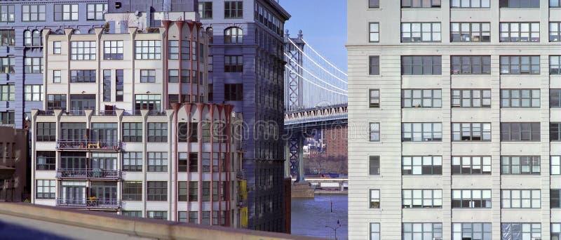 布鲁克林地区dumbo纽约 图库摄影