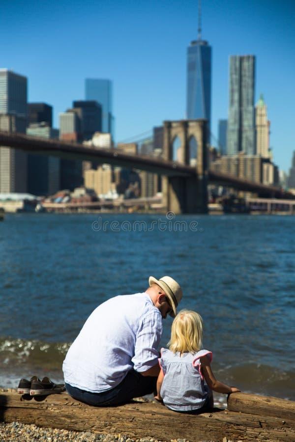 布鲁克林大桥公园 图库摄影