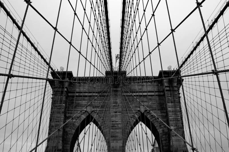 布鲁克林大桥 免版税库存照片