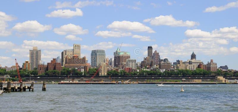 布鲁克林市高度纽约 免版税库存照片