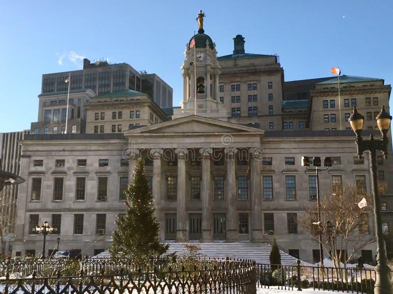 布鲁克林自治市镇霍尔 免版税库存图片