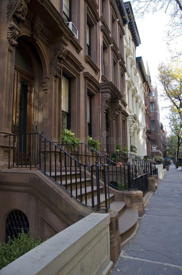 布鲁克林褐砂石 免版税库存图片
