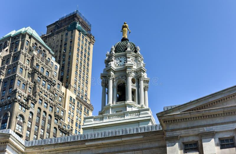 布鲁克林Townhall,纽约,美国 库存图片