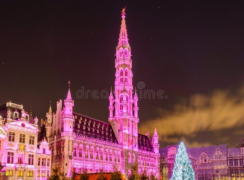 布鲁塞尔圣诞节 库存照片