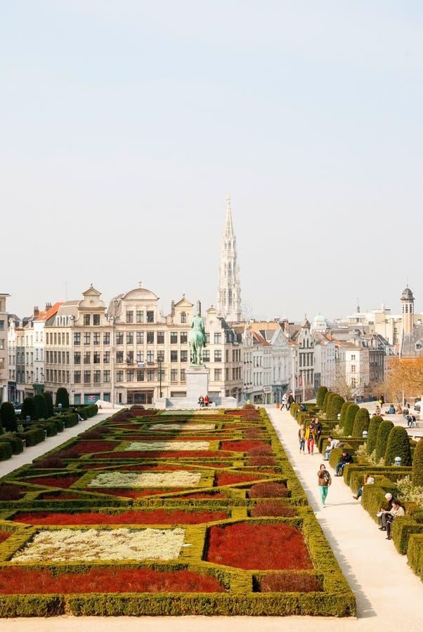 布鲁塞尔地平线 免版税图库摄影