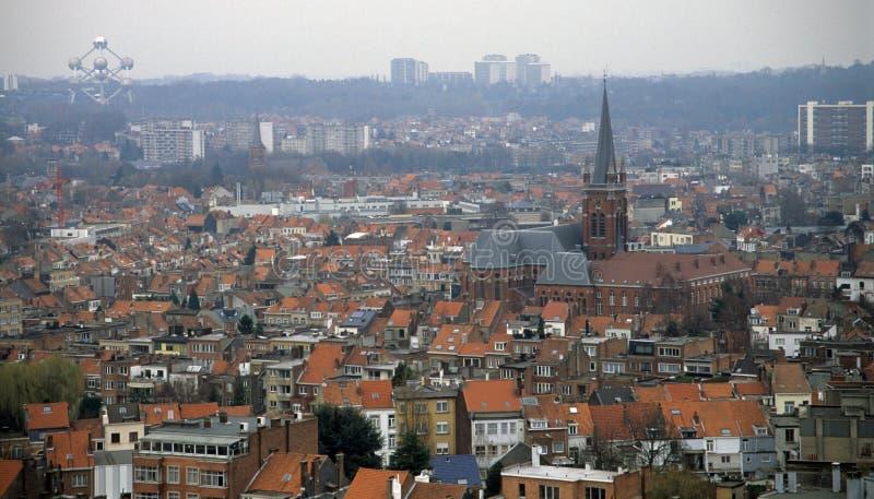 布鲁塞尔地平线 库存图片