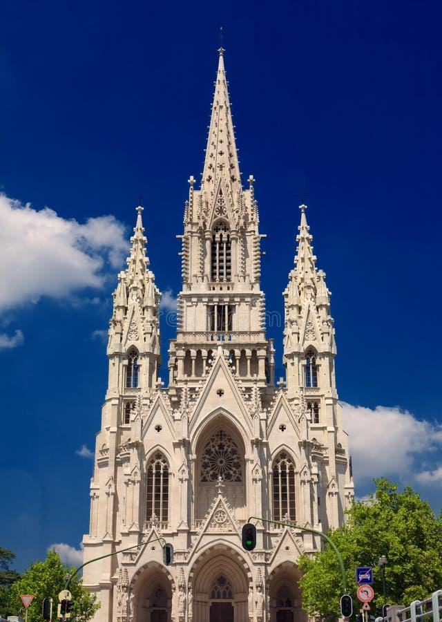 布鲁塞尔城堡塔 库存图片