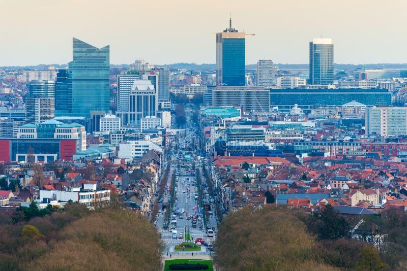 布鲁塞尔布鲁塞尔,比利时 免版税库存图片