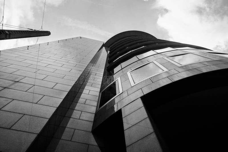 布鲁塞尔摩天大楼 免版税库存图片