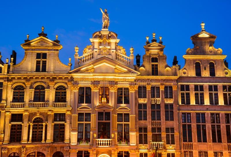 布鲁塞尔,比利时 库存照片