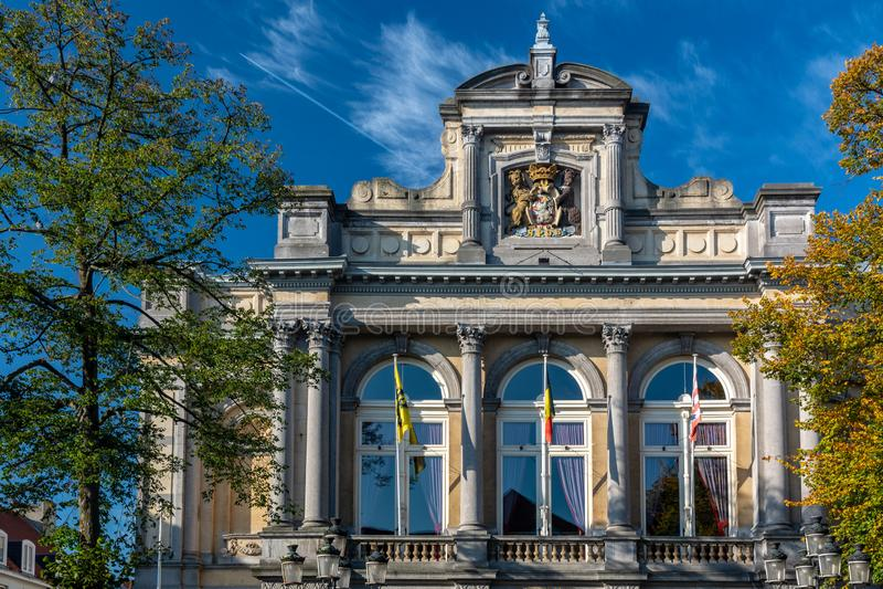 布鲁日城市剧院  库存照片