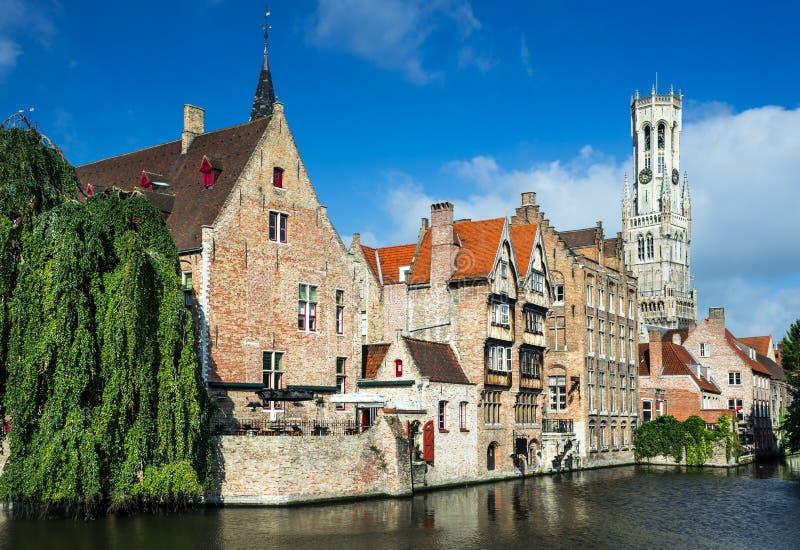 布鲁日,布鲁基,比利时 免版税库存图片