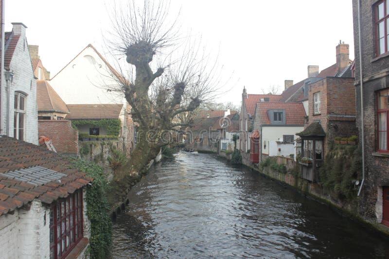 布鲁日-比利时 免版税图库摄影