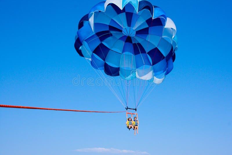 帆伞运动天空 免版税库存照片