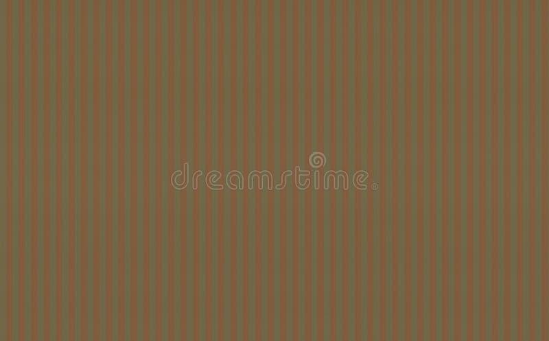 帆布卡其色的橄榄色的颜色背景纹理地中海样式基地与红色橙色垂直的 库存例证