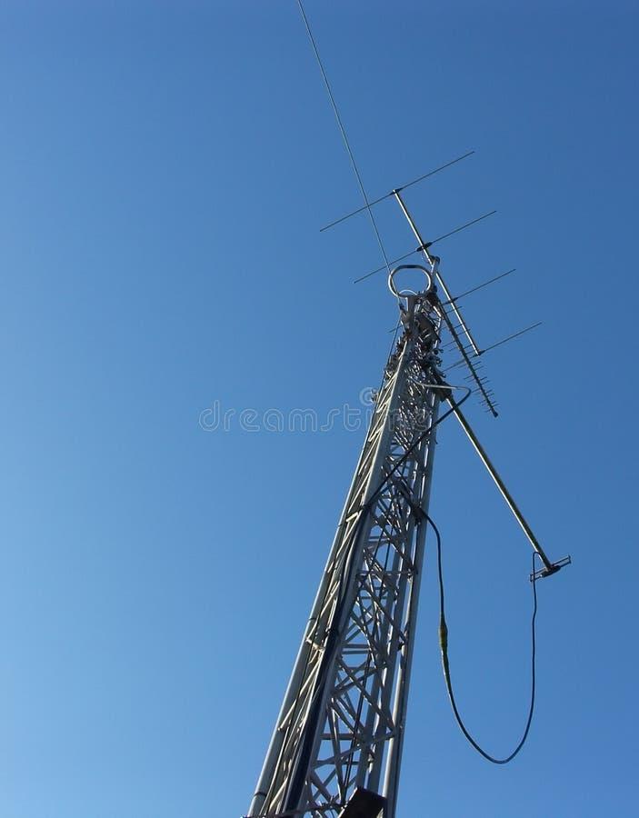 帆柱收音机 库存照片