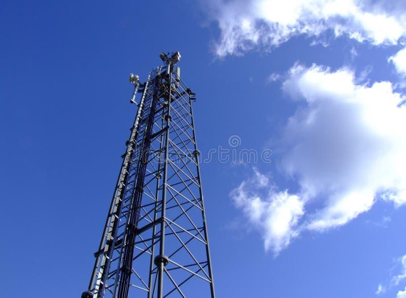 帆柱移动电话 免版税库存照片