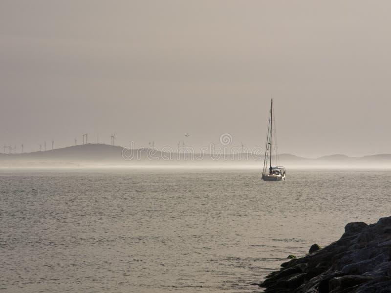帆船在索维拉摩洛哥 免版税图库摄影