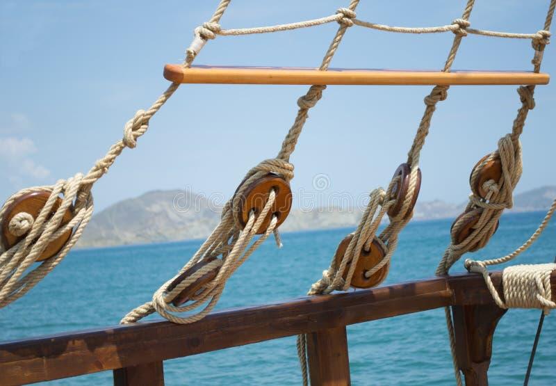 帆船的元素 图库摄影