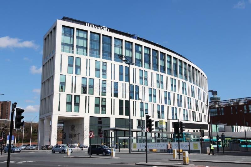 希尔顿旅馆英国 免版税图库摄影