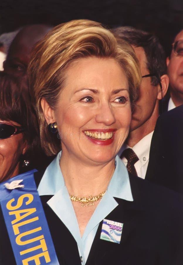 希拉里・罗德姆・克林顿 免版税库存照片