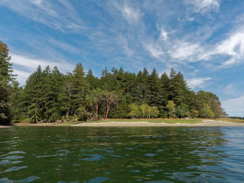希望海岛,皮吉特湾,华盛顿州 图库摄影