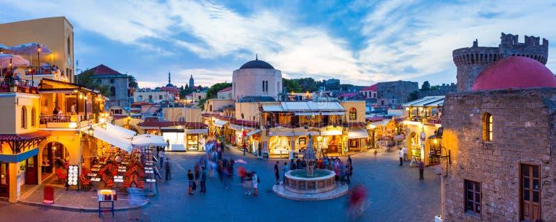 希波克拉底广场 库存图片