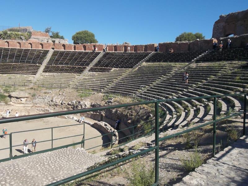希腊剧院。 库存照片