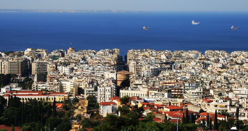 希腊北塞萨罗尼基 免版税库存照片
