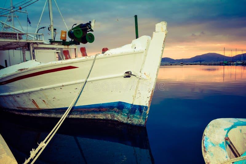 希腊口岸 免版税库存图片
