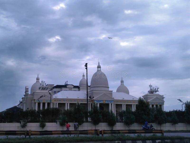 希腊和罗马风格建筑学印度 图库摄影