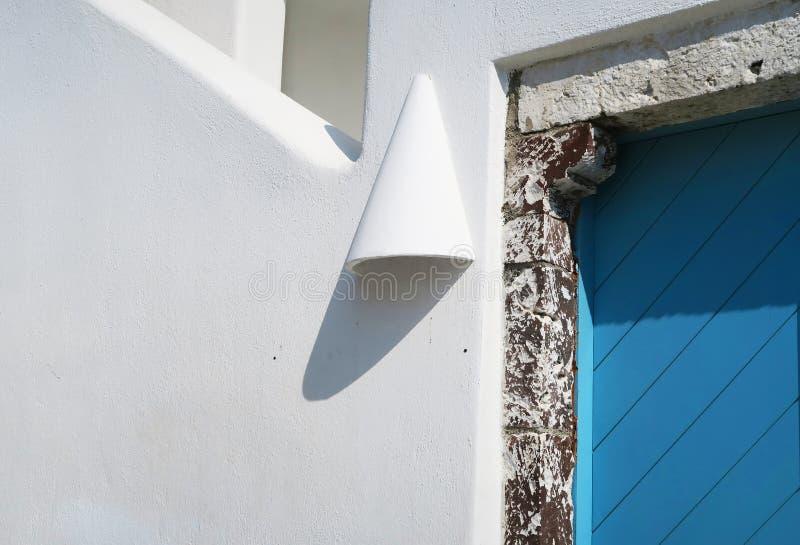 希腊圣托里尼希腊建筑 免版税库存照片