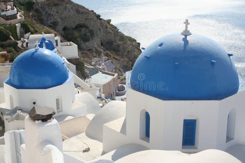 希腊在夏天 图库摄影