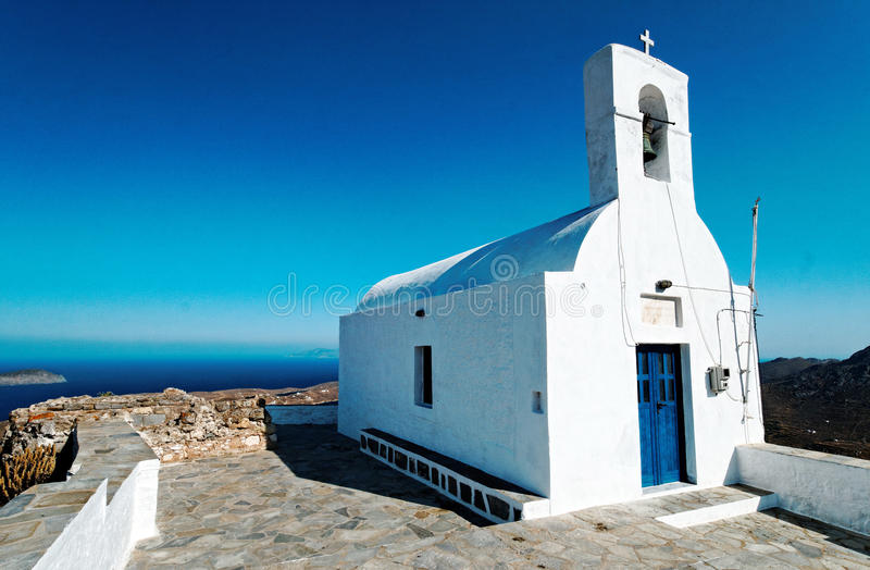 希腊大教堂 库存图片