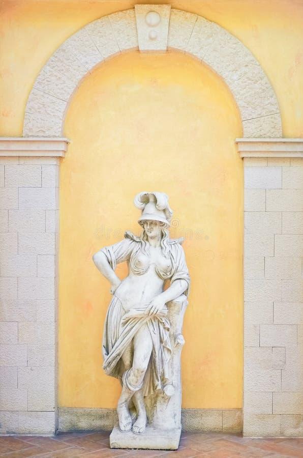 希腊女性雕象 库存照片