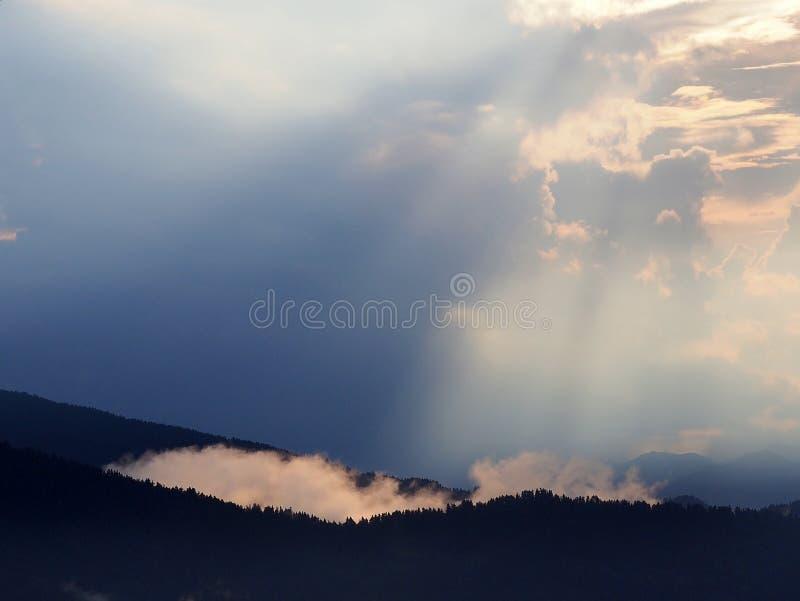 希腊山脉 库存照片