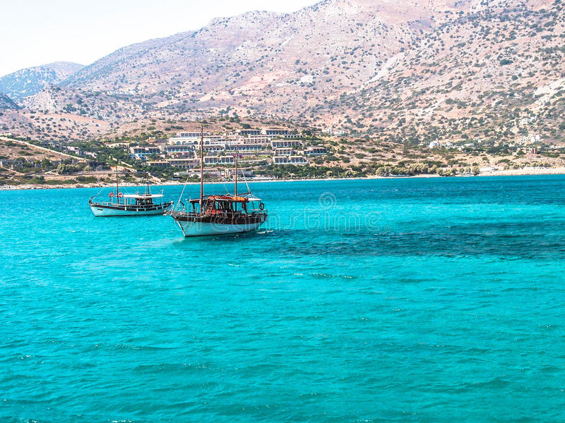 希腊海岛-克利特 免版税图库摄影